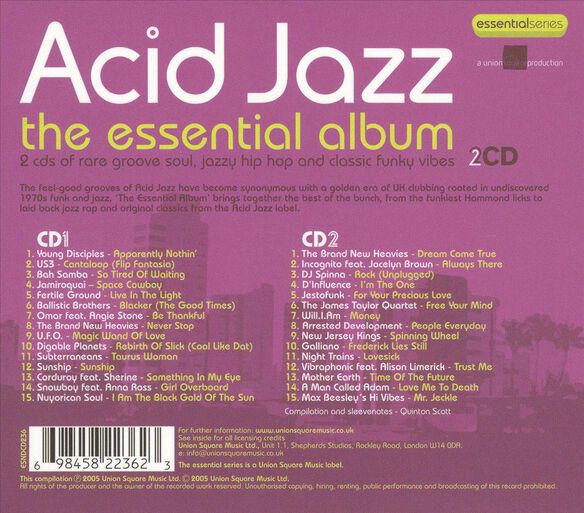Acid Jazz:Essential Album