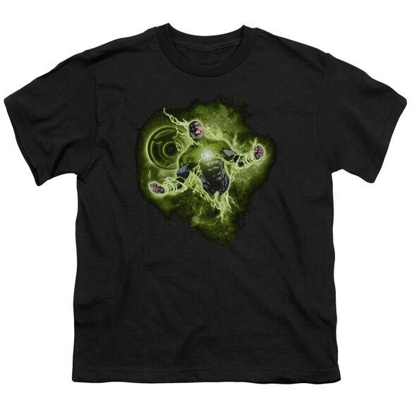 GREEN LANTERN LANTERN NEBULA - S/S YOUTH 18/1 - BLACK T-Shirt