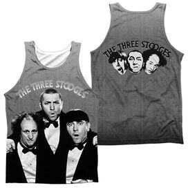 Three Stooges Classy Fellas (Front/back Print)-adult 100% Poly