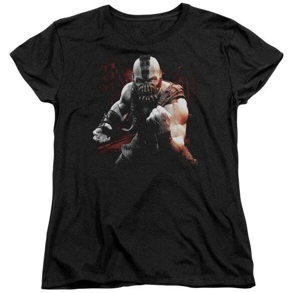 Dark Knight Rises Bane Battleground Short Sleeve Womens Tee T-Shirt
