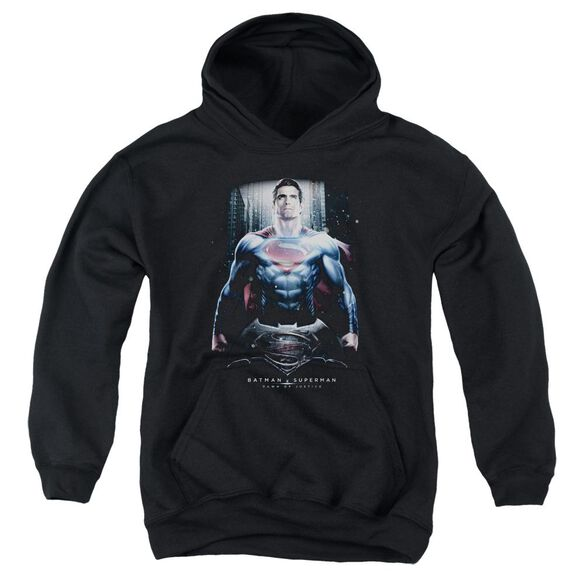 Batman V Superman Supe Ground Zero Youth Pull Over Hoodie