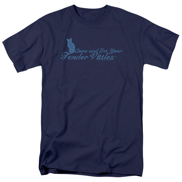 TENDER VITTLES COME AND GET EM - S/S ADULT 18/1 - NAVY T-Shirt