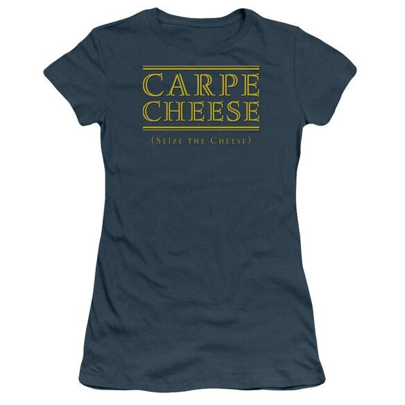 Carpe Cheese Short Sleeve Junior Sheer T-Shirt