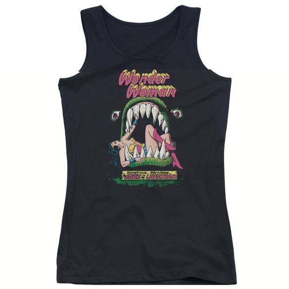 Dc Jaws - Juniors Tank Top - Black