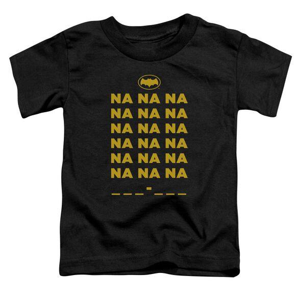 Batman Classic Tv Na Na Na Short Sleeve Toddler Tee Black T-Shirt