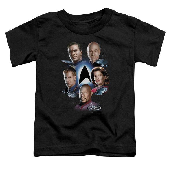 Star Trek Starfleet's Finest Short Sleeve Toddler Tee Black Sm T-Shirt