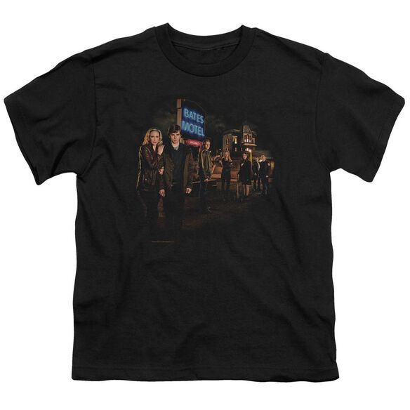Bates Motel Cast Short Sleeve Youth T-Shirt