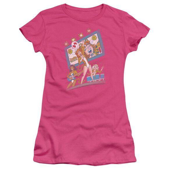 Archie Comics Big Screen Rock Short Sleeve Junior Sheer Hot T-Shirt