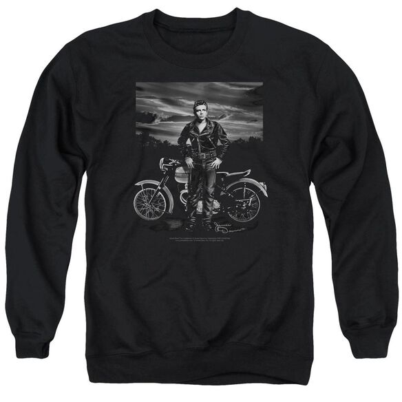 Dean Rebel Rider Adult Crewneck Sweatshirt