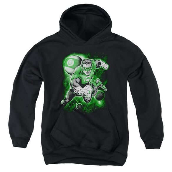 Green Lantern Lantern Planet Youth Pull Over Hoodie