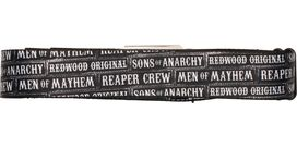 Sons of Anarchy Men of Mayhem Seatbelt Mesh Belt