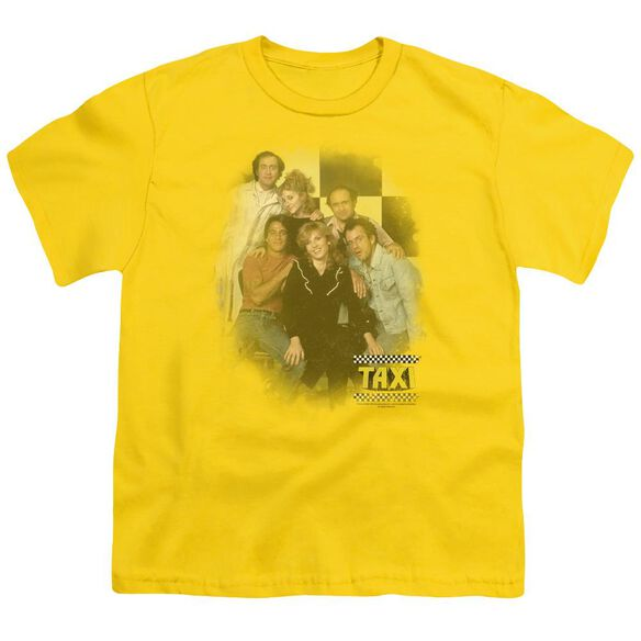 Taxi Sunshine Cab Short Sleeve Youth T-Shirt
