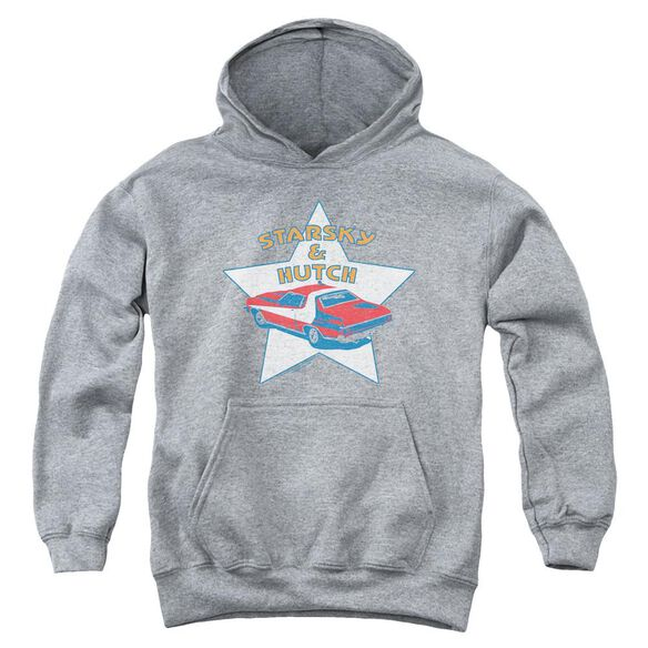 Starsky And Hutch Torino Youth Pull Over Hoodie Athletic