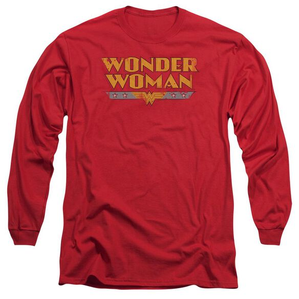 Dc Wonder Woman Logo Long Sleeve Adult T-Shirt