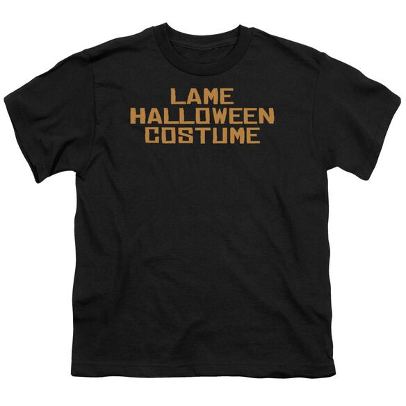 Lame Halloween Costume Short Sleeve Youth T-Shirt