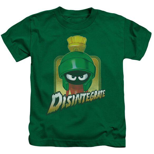 Looney Tunes Disintegrate Short Sleeve Juvenile Kelly T-Shirt