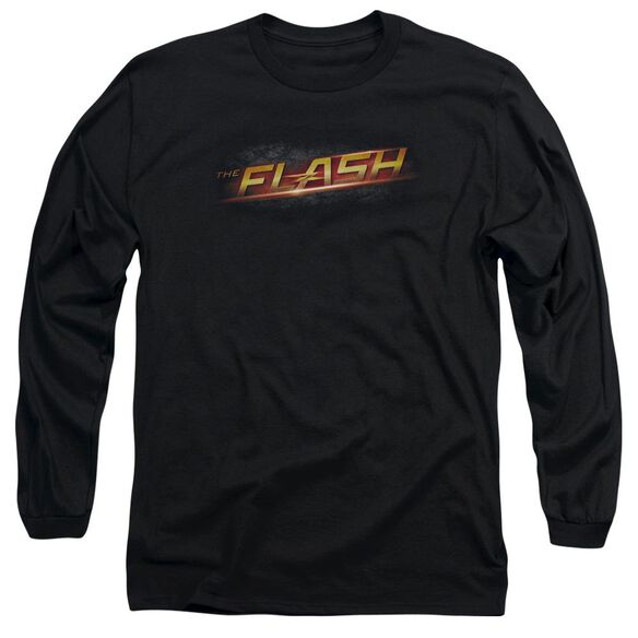 The Flash Logo Long Sleeve Adult T-Shirt