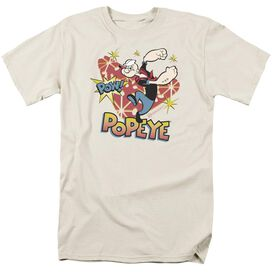 POPEYE POW! - S/S ADULT 18/1 - SAND T-Shirt