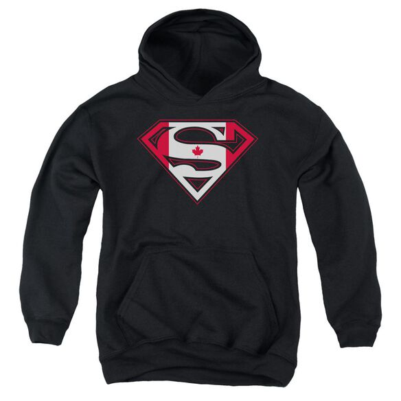 Superman Canadian Shield Youth Pull Over Hoodie