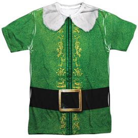 Elf Buddy Costume Short Sleeve Adult Poly Crew T-Shirt