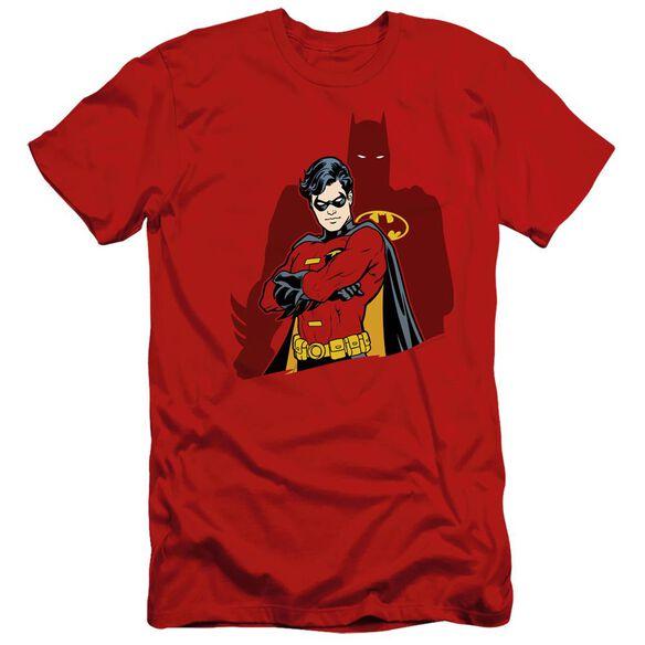BATMAN WINGMAN - S/S ADULT 30/1 - RED T-Shirt
