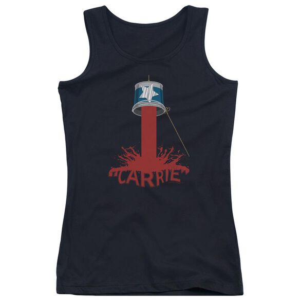 Carrie Bucket Of Blood Juniors Tank Top
