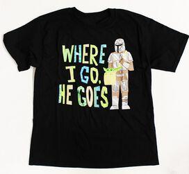 Star Wars The Mandalorian The Child Where I Go Children's T-Shirt
