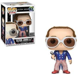 Funko Pop! Rocks: Elton John: Red, White & Blue with Glitter