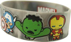 Avengers Kawaii Group Rubber Wristband