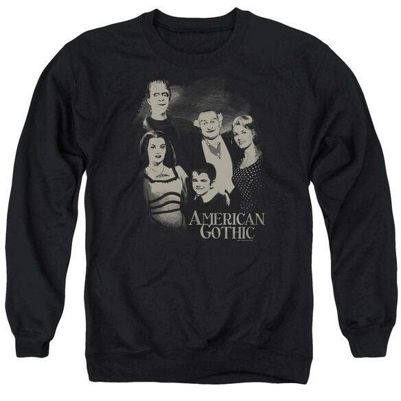 The Munsters American Gothic Adult Crewneck Sweatshirt