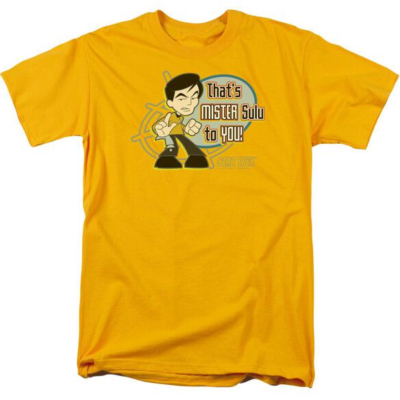 Quogs Mr Sulu To You Short Sleeve Adult T-Shirt