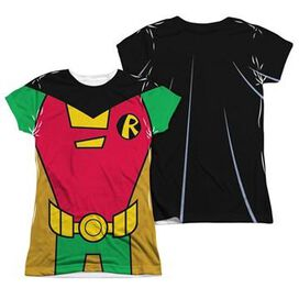 Teen Titans Go Robin Suit FB Sub Juniors T-Shirt