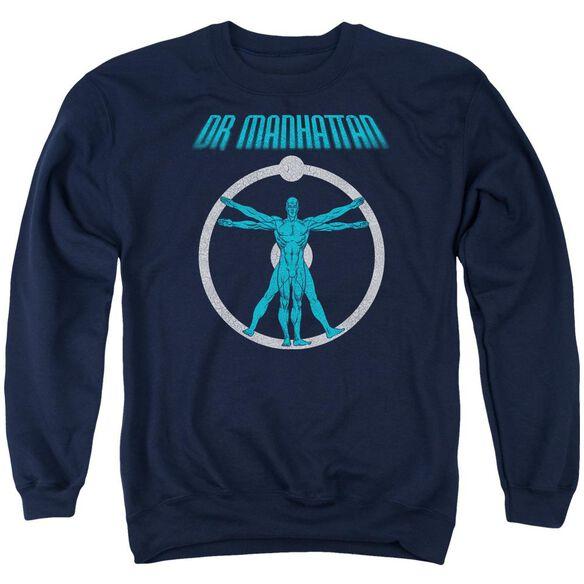 Watchmen Anatomy Adult Crewneck Sweatshirt