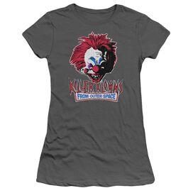 Killer Klowns From Outer Space Rough Clown Short Sleeve Junior Sheer T-Shirt