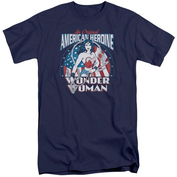 Dc American Heroine Short Sleeve Adult Tall T-Shirt