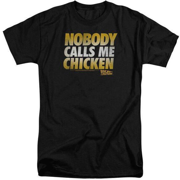 Back To The Future Chicken Short Sleeve Adult Tall T-Shirt