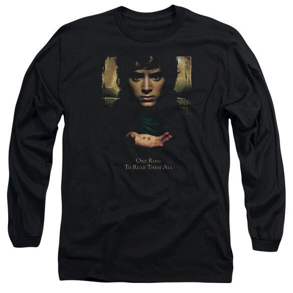 Lor Frodo One Ring Long Sleeve Adult T-Shirt