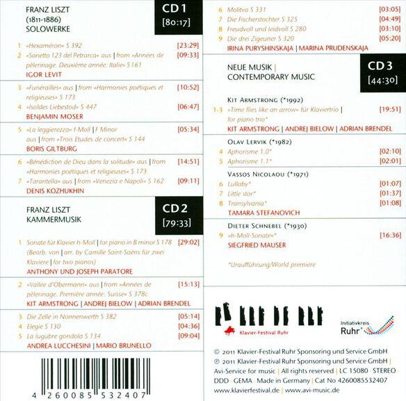 Liszt & New Music (Box)