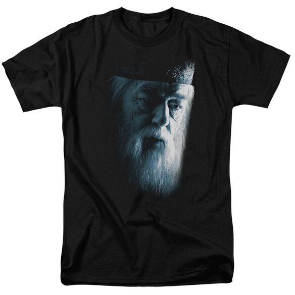 Harry Potter Dumbledore Face Short Sleeve Adult T-Shirt