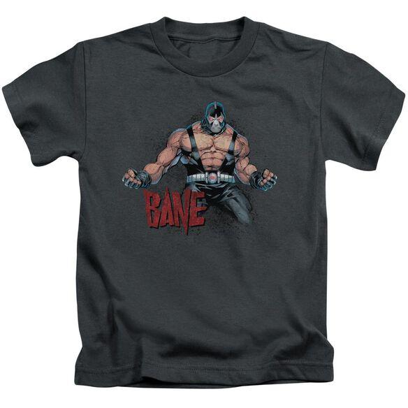 Batman Bane Flex Short Sleeve Juvenile Charcoal T-Shirt
