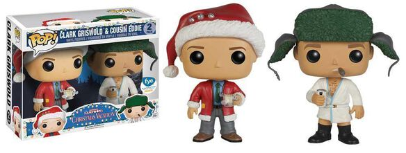 Funko Pop! Christmas Vacation Clark & Eddie 2 Pack