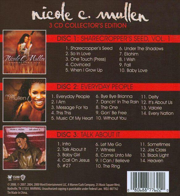 Nicole C.Mullen 3 Cd Coll