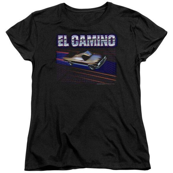 Chevrolet El Camino 85 Short Sleeve Womens Tee T-Shirt