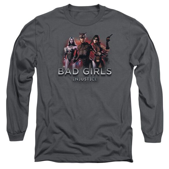 Injustice Gods Among Us Bad Girls Long Sleeve Adult T-Shirt