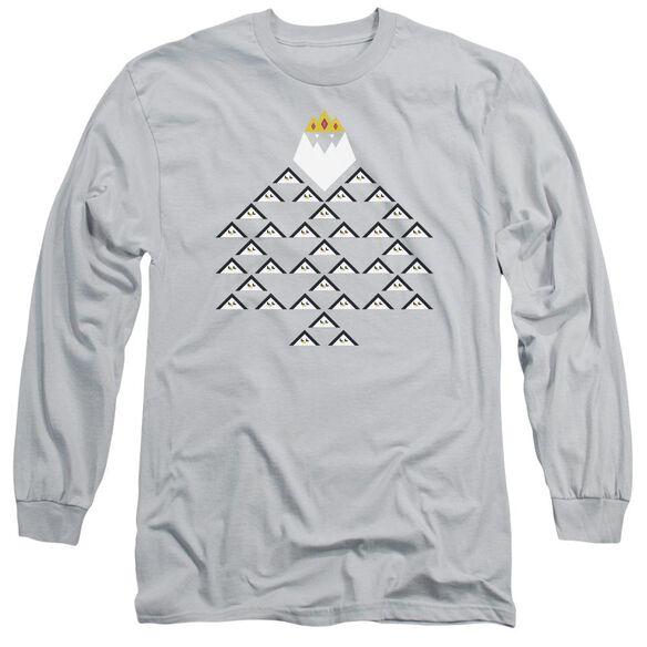 Adventure Time Ice King Triangle Long Sleeve Adult T-Shirt