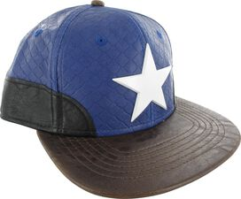 Captain America Uniform Snapback Hat