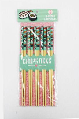 Bamboo Sushi Chopsticks [5 Pack]