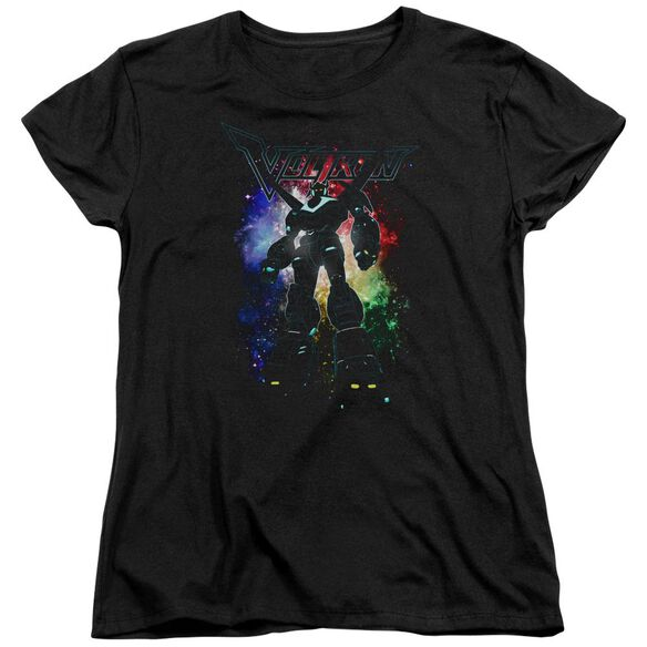 Voltron Galactic Defender Short Sleeve Womens Tee T-Shirt