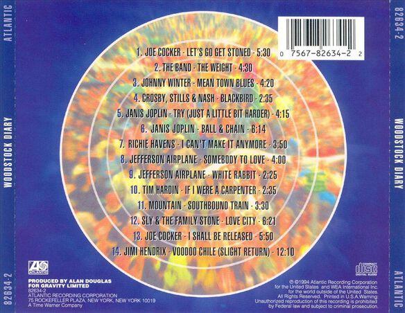 Woodstock Diary 994