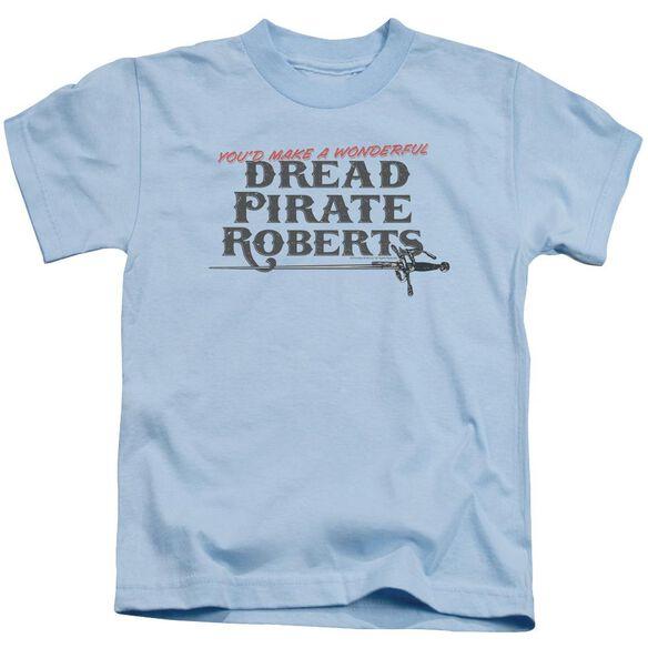 Princess Bride Wonderful Dread Short Sleeve Juvenile Sand T-Shirt